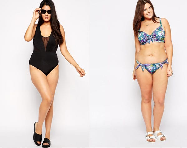 927c67be683fd SwimsuitsForAll: The holy grail of plus-sized bathing suit shopping, hands  down. Blogger Gabi Fresh has her own line of swimsuits through  SwimsuitsForAll, ...