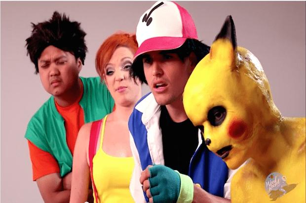 Pokemon porn version