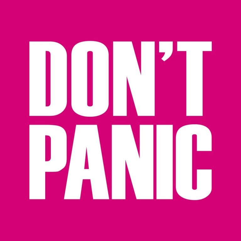 Please, Don't Panic