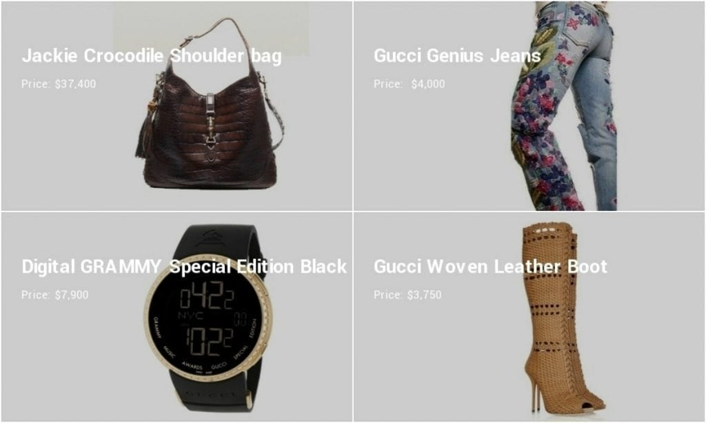 cd675a50e Gucci's Most Expensive Items - The Frisky