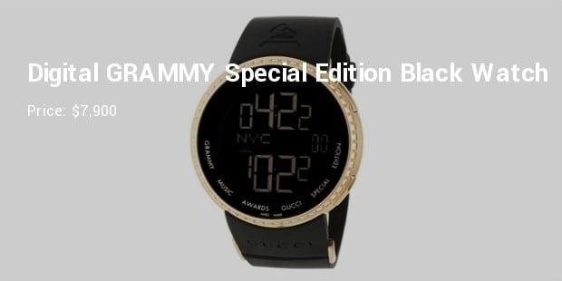 845cbc7472022 6. Men s YA114217 I-Digital GRAMMY Special Edition Black Watch