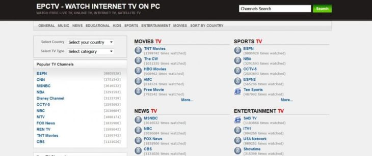 Best 32 Free Live TV Streaming Sites for Watching TV Online