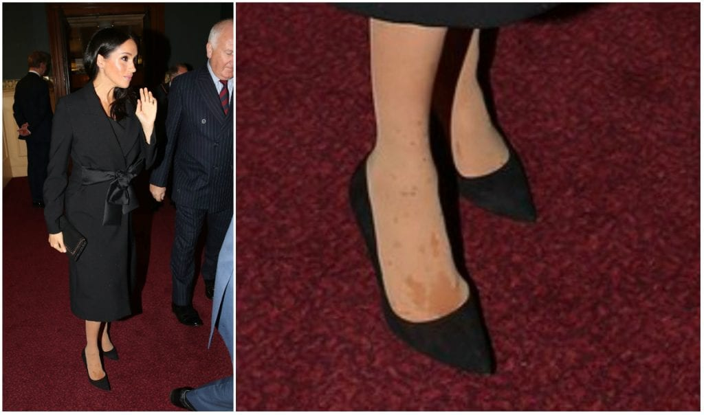 What Happened With Meghan Markle's Pantyhose?