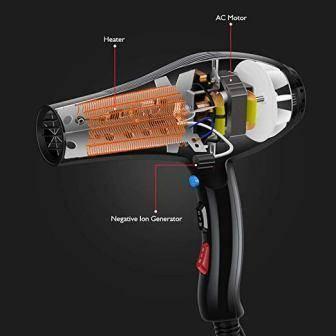 SABUY 2200 W Professional Hair Dryer, Ioni