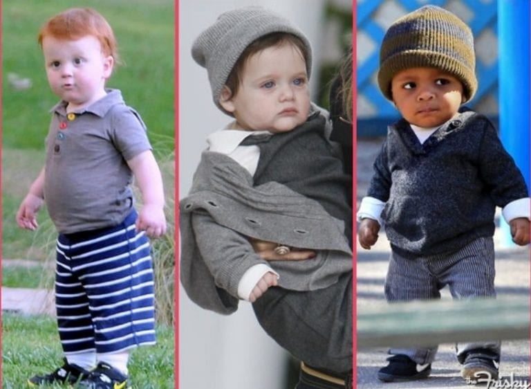10 Big, Serious Celebrity Babies - The Frisky