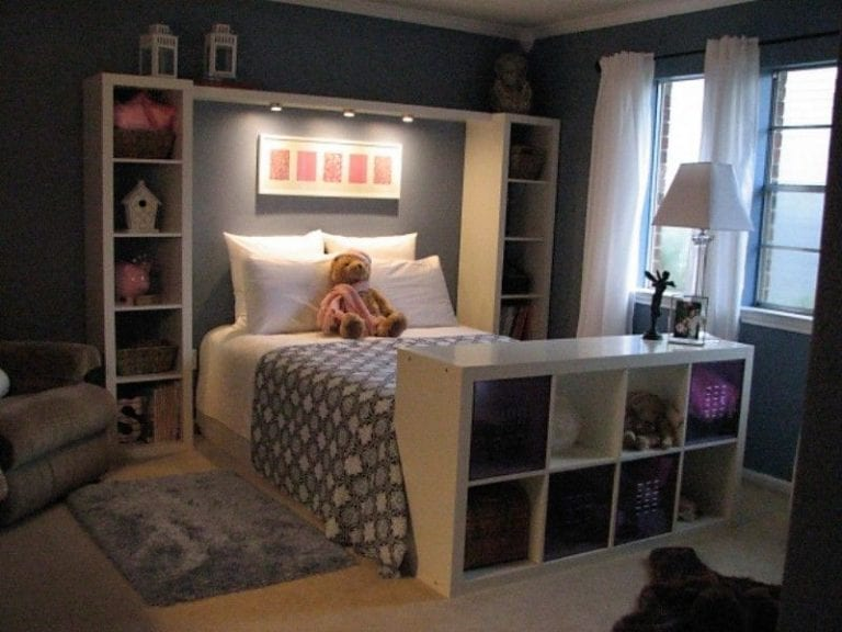 How to organize a small room with a queen bed sheet with HQ ...