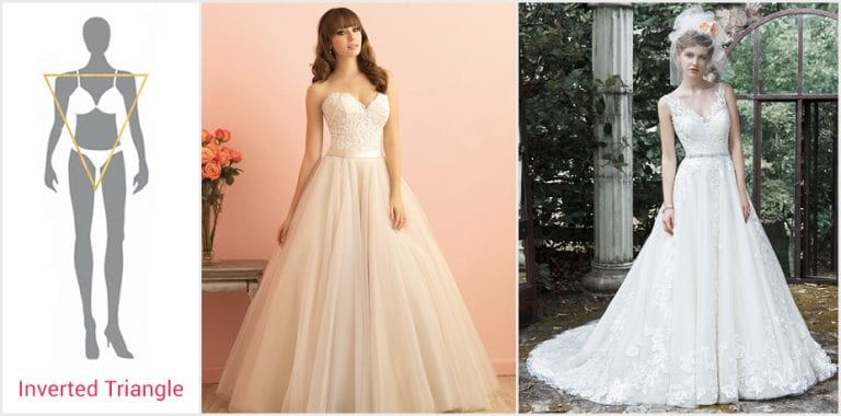 How To Choose The Best Wedding Dress for Your Body Type