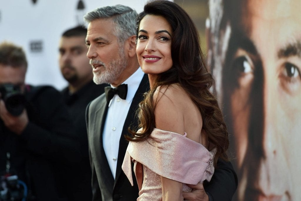 Are Amal and George Clooney expecting twins again?