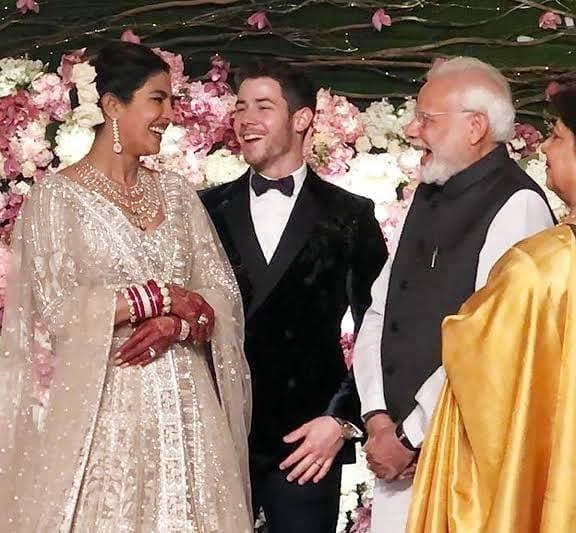 Priyanka Wedding White Gown: Priyanka Chopra's Wedding Gown