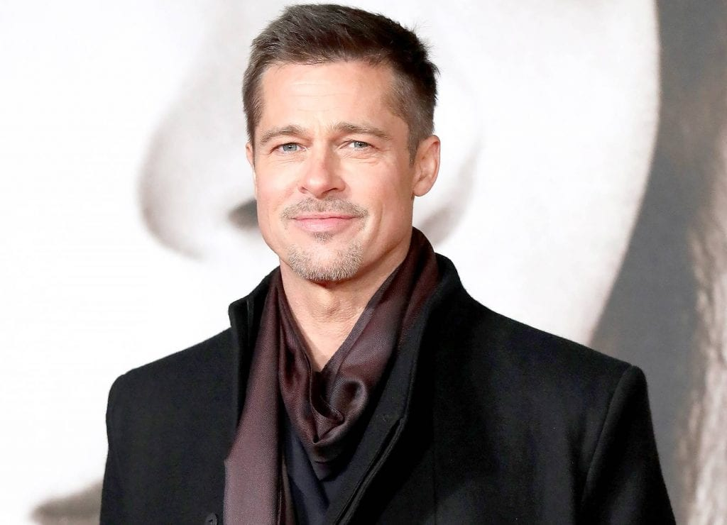 Brad Pitt celebrated Christmas with just four of his ...