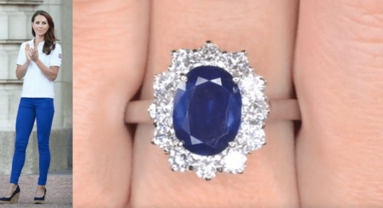 The story behind Kate Middleton's third wedding ring - The ...