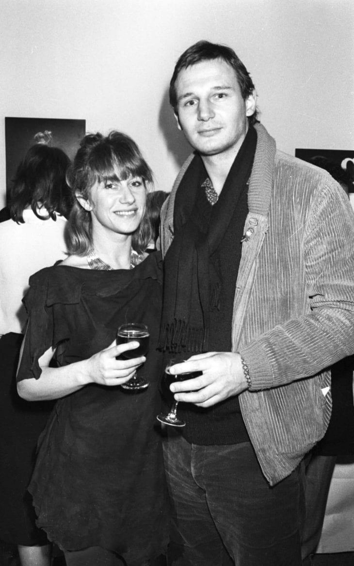 Liam Neeson and Dame Helen Mirren