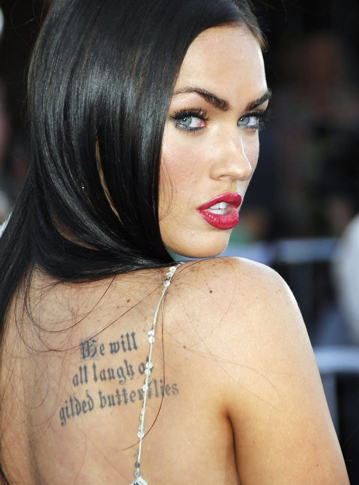 9 celebrities tattoos and the meanings behind them the