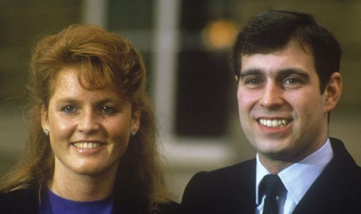 Prince Andrew and Duchess Sarah Ferguson