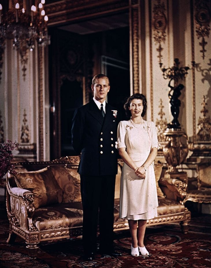Princess Elizabeth and Prince Philip