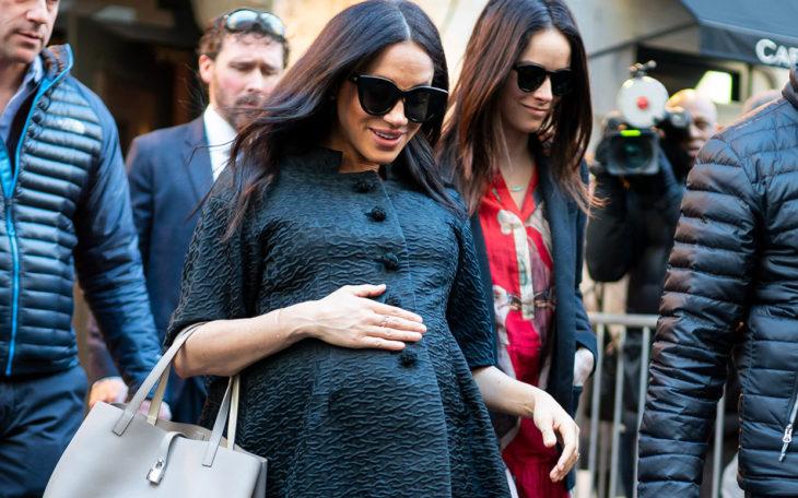 Meghan Markle baby reveal in Vogue magazine rumours 'categorically untrue'