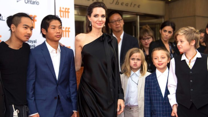 What is Angelina Jolie thinking of Brad Pitt with another ...