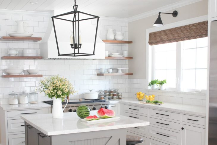10 Best Modern Farmhouse Kitchen Ideas 2020 - The Frisky on Images Of Modern Kitchens  id=76279