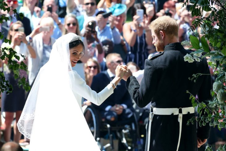 Meghan & Harry Celebrate Anniversary With Stunning Never-Before-Seen Wedding Photos