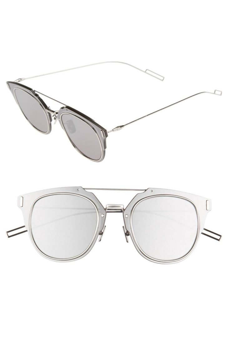 3ef82eec44d Metal Shield Aviator Sunglasses. Source: Lyst