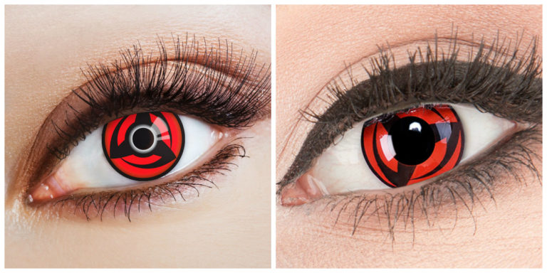 Why You Should Wear Sharingan Eye Contacts - The Frisky