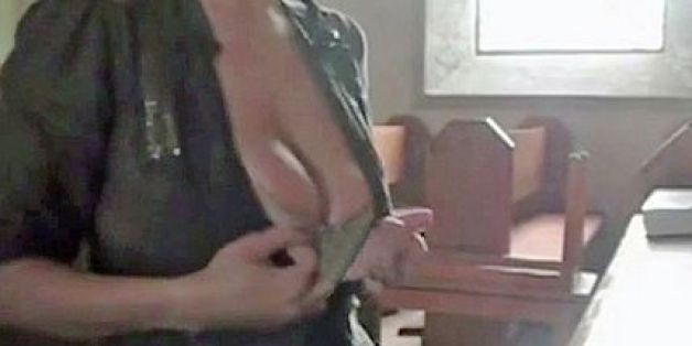 Woman Films Porn Inside Church, Gets Caught When Man Recognizes Her Boobs