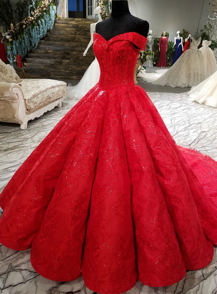 Best 15 Red Wedding Dresses in 2019 - The Frisky
