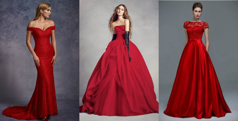 15 Best Red Wedding Dresses In 2020 The Frisky