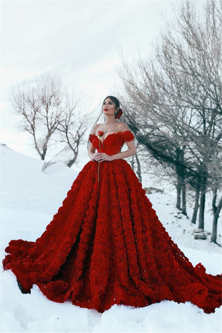 Best 15 Red Wedding Dresses In 2019 The Frisky