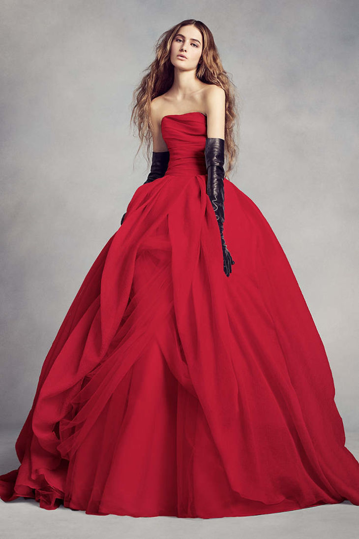 Red Wedding Gown: Best 15 Red Wedding Dresses In 2019