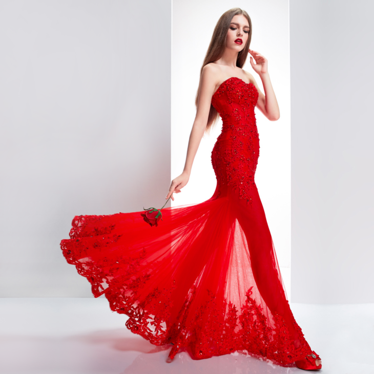 Best 15 Red Wedding Dresses In 2019