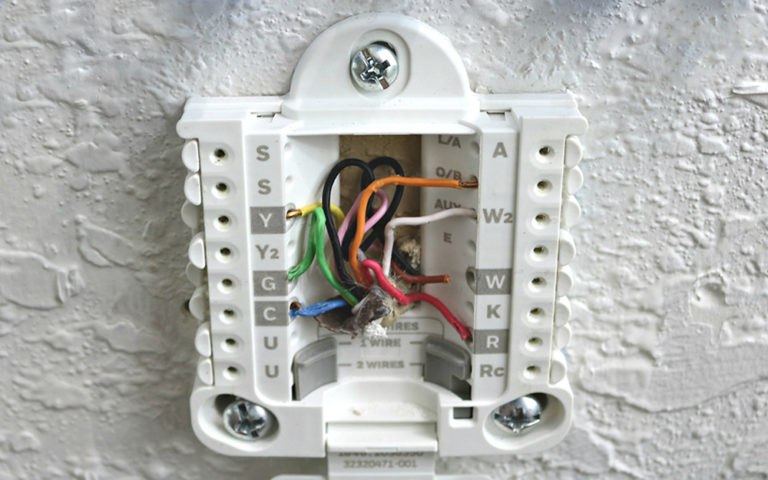 Thermostat Wiring - Can You do it by Yourself? - The Frisky
