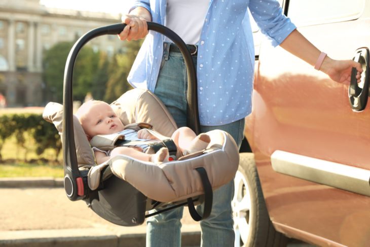 When Can You Put Your Baby in a Stroller Without a Car Seat? - The Frisky