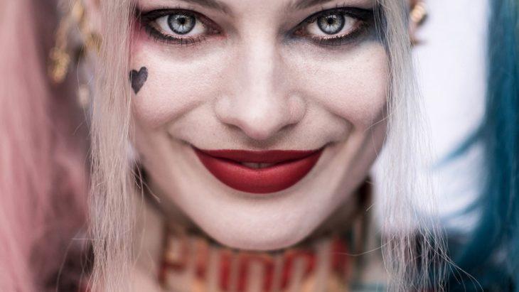 Harley quinn rotten face tattoo