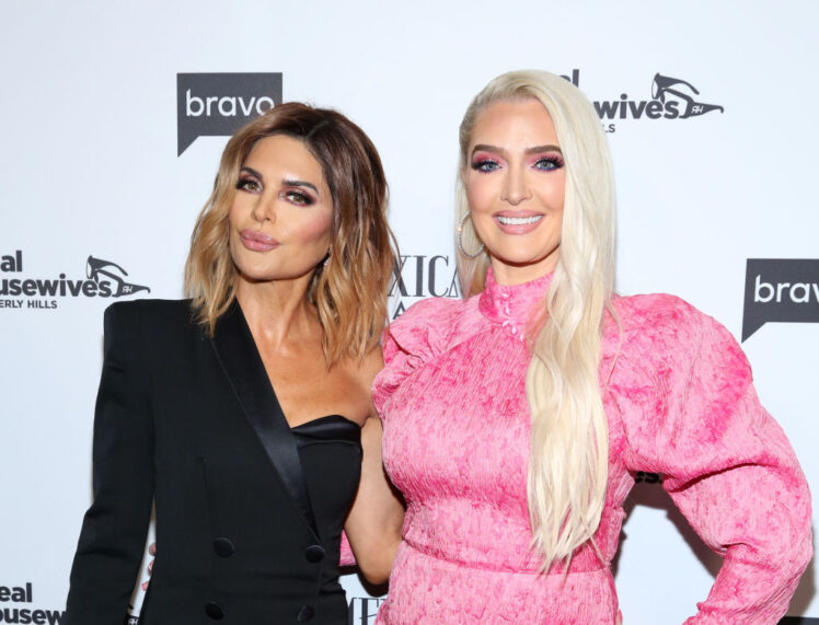 Lisa Rinna and Erika Jayne Caught Wearing the Same Outfit